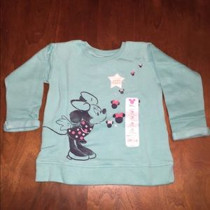 NWT Disney Minnie Mouse Sweater, Size 18 Months